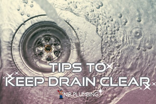 tips to keep drain clear