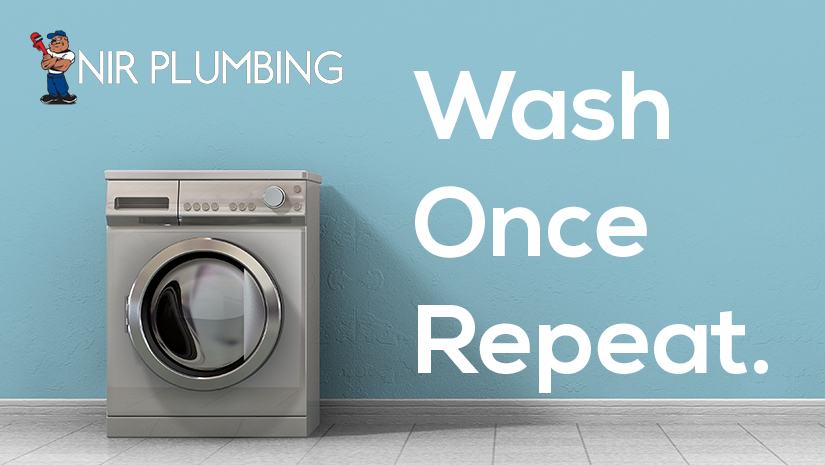 Wash once repeat