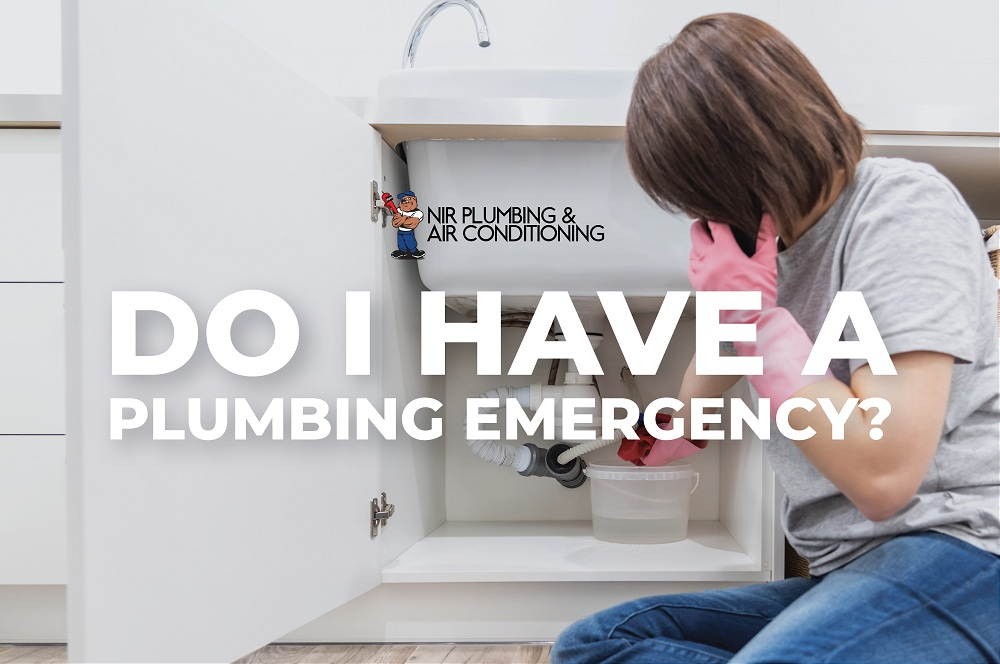 Do I Have a Plumbing Emergency?