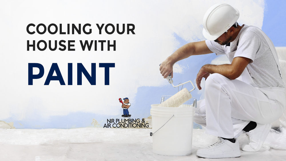 Cooling your house with paint